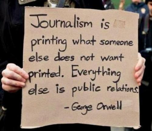 δημοσιογραφία είναι